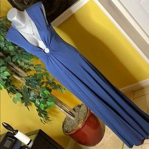 BCBGMaxAzria matte jersey Long dress